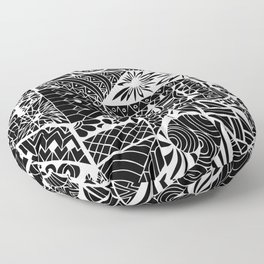 Jayden's Journey Etchings Floor Pillow
