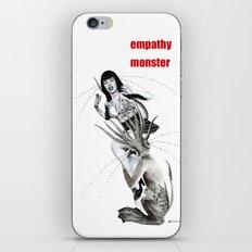 empathy monster iPhone & iPod Skin