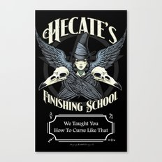 Hecate's Finishing School Canvas Print