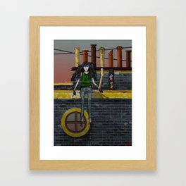 Music of the Fate Framed Art Print