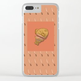 Taiyaki Sushi Clear iPhone Case