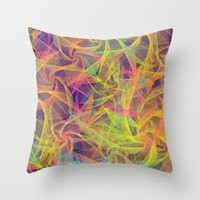 holographic Throw Pillows featuring Blend Everywhere by Danny Ivan