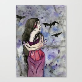 Christina Death Canvas Print