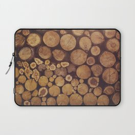 pile of wood Laptop Sleeve
