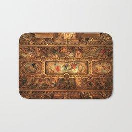 Midnight with Botticelli, Raphael, Michelangelo, & Perugino, Sistine Chapel, Rome Bath Mat