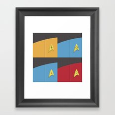 Star Trek - Insignia Framed Art Print