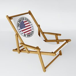 The United States of America - USA Sling Chair