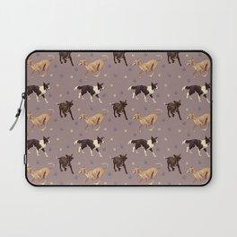 Rescue Dogs Pattern Laptop Sleeve