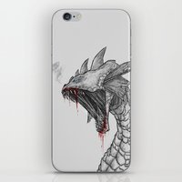 hydra iPhone & iPod Skins featuring Hydra by Sara Saeed