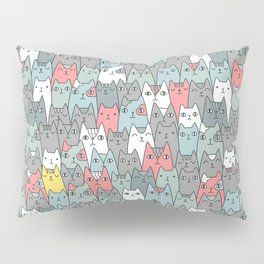 Cats family Pillow Sham