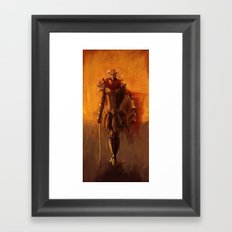 From The Flames Framed Art Print