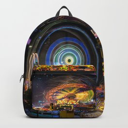 Fairground Attraction panorama Backpack