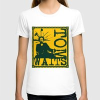 tom waits T-shirts featuring Tom Waits by Silvio Ledbetter