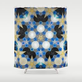 Suspended Stars Shower Curtain