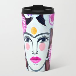 Beautiful Frida Travel Mug