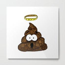 Holy Crap! - Bathroom Humor - Poop - 57 Montgomery Ave Metal Print