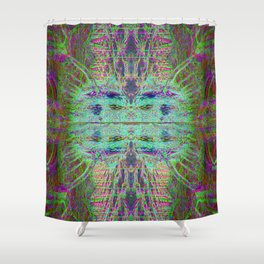 neonhive Shower Curtain