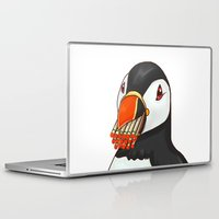 puffin Laptop & iPad Skins featuring Puffin' Puffin by t-shirt lifter