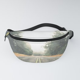 Forest road Fanny Pack