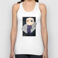 battlestar Tank Tops featuring Colonel Tigh 2 | Battlestar Galactica by The Minecrafteers