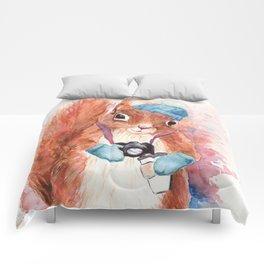 Winter Squirrel Comforters