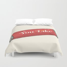 That gum you like is going to come back in style. Duvet Cover