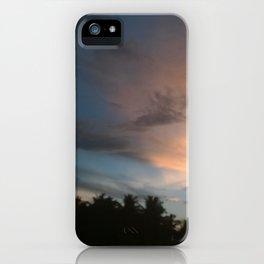 Fox In Socks - Clouds iPhone Case