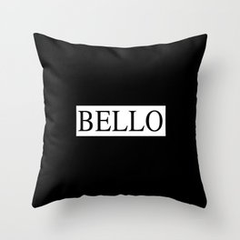 BELLO 2 Throw Pillow