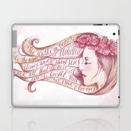 She Walks in Beauty Laptop & iPad Skin