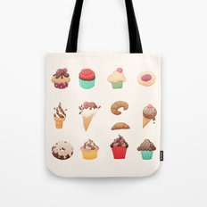 Desserts Tote Bag
