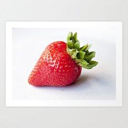 Ripe Strawberry Art Print