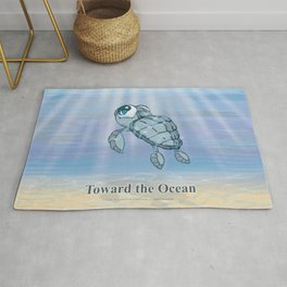 Toward the Ocean Rug