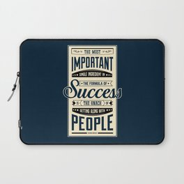 Lab No. 4 The Most Important Theodore Roosevelt Motivational Quotes Laptop Sleeve