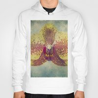 orchid Hoodies featuring Orchid  by Honey Malek