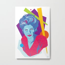 GINA :: Memphis Design :: Miami Vice Series Metal Print