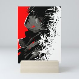 Ken Kaneki Black Reaper Mini Art Print