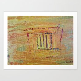 And it was called YELLOW....... Art Print