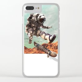 Jump out Clear iPhone Case