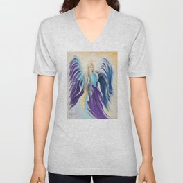 Angel for Creativity and Sensuality Unisex V-Neck