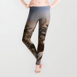 A Dash for the Timber - Frederic Remington Leggings