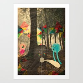 occhio bao Art Print
