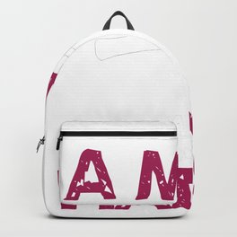Man good with Hands Backpack