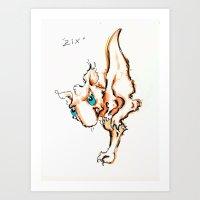 Zix Art Print