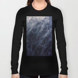 Blue Clouds, Blue Moon Long Sleeve T-shirt
