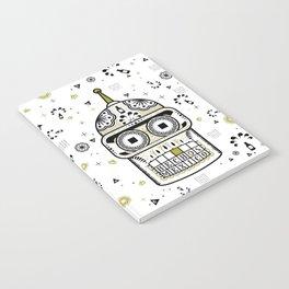 Sugar Bot Skull Notebook