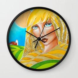 Spirit of the Palouse Wall Clock