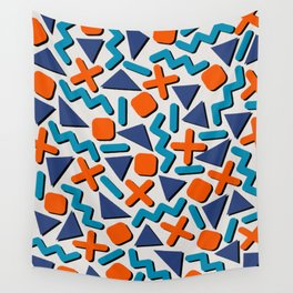 90s Retro Memphis Pattern Wall Tapestry