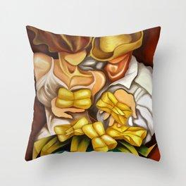 Cuban Tamales Throw Pillow