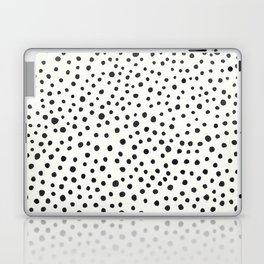 Black Dots Abstract 1 Laptop & iPad Skin