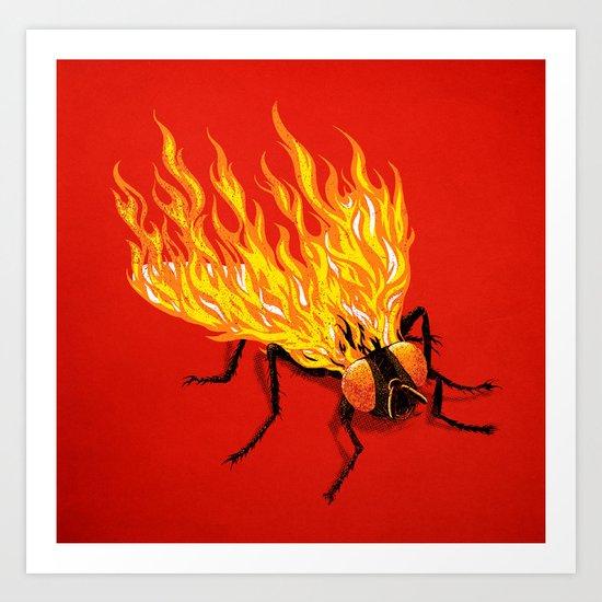 The Firefly Art Print